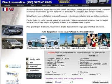 RENT CAR WEB SITE