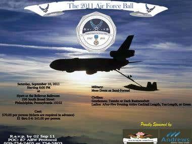 Air Force Ball Flyer