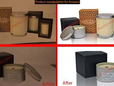 Photo and Product image editing and manipulating.