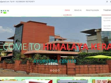 Himalaya Kerala Ayurveda Website