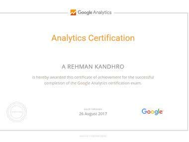 Iam Certified Google Analytics Partner