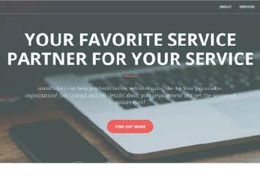 miniProject - portfolio site