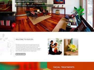 Massage SPA - Website Responsive