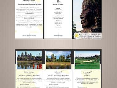 Travel Agency - Two-Fold Brochure