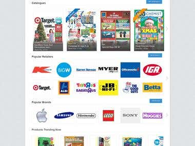 Web & UI Design, eCommerce