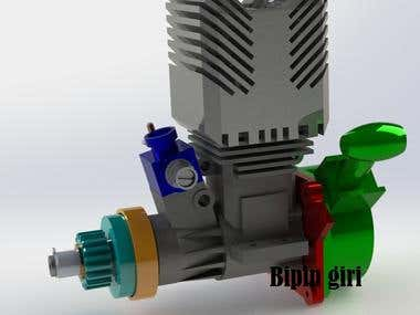 NITRO ENGINE DESIGN