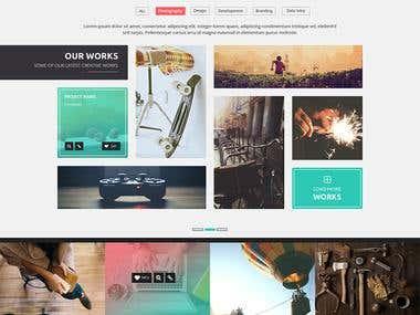 Water&Spirit_Website Template