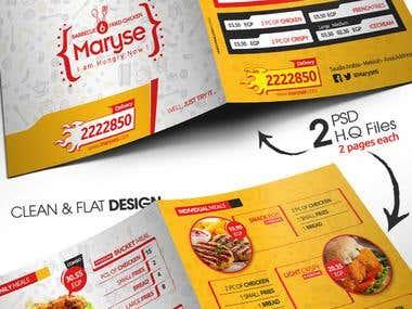 Maryse6 Restaurant_Menu Design