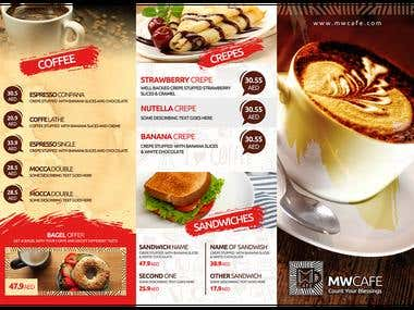 MW Cafe_Menu Front