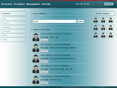 Personal Document Management System