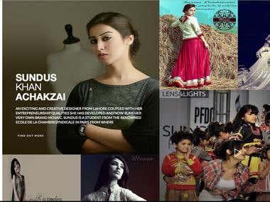 Fashion Designer Sundus Nawaz