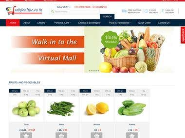 Online E-commerce Site