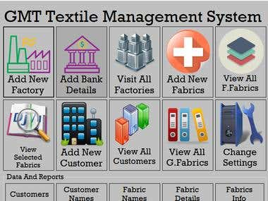 GMT Textile Management System