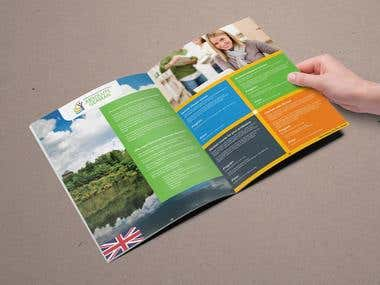 Brochure Design for Absolute German