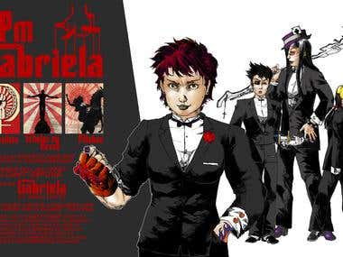 Mafia Themed Membership Poster