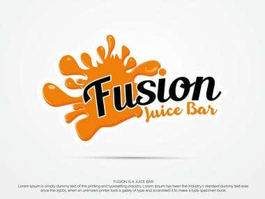 Fresh logo For A Juice Bar
