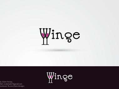 Creative eye catching Wine Logo