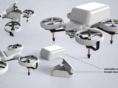 parcel drones