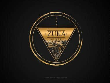 Zuka House Logo Design for Swimwear