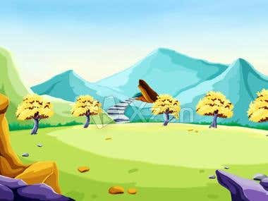 Background Design and Character Design