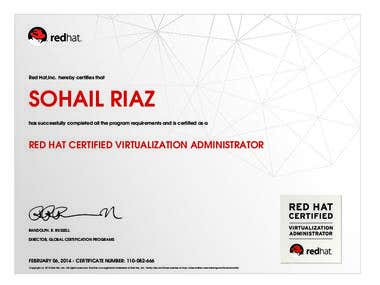 Red Hat Certified Virtualization Administrator