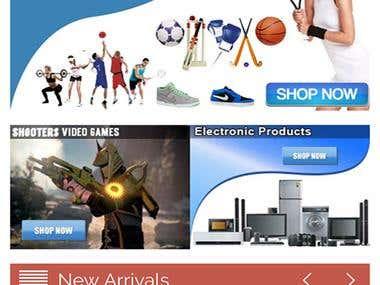 Mangaldirect E-Commerce Mobile
