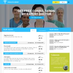 HealthDrop - Online Health consultation