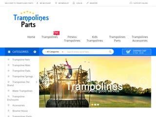 Trampoinespart  - Magento website