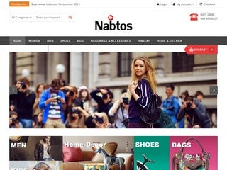 Nabtos- Magento website