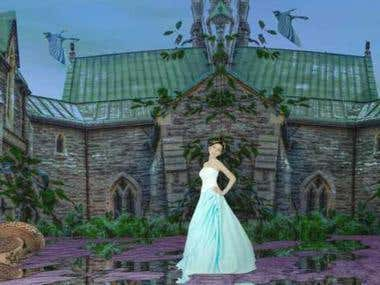 princess in Oratoire St-Joseph,Montreal