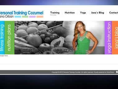 Website Design - Wordpress - PersonalTrainingCozumel.com