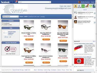 Facebook Store management