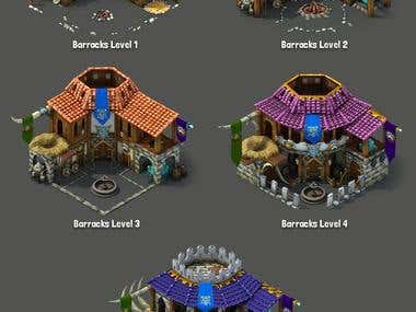 3D assets for MMO game