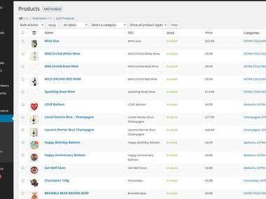 Woo-commerce ( WordPress eCommerce ) and Product Setup
