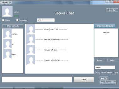 Secure Chat Application