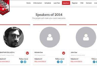 make speaker section