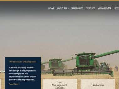 Group company website