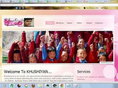 An NGO Website