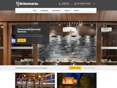 Electrical Website Development