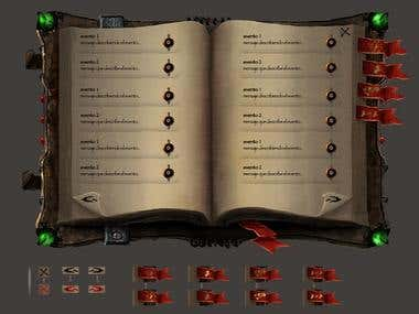Warbanners User Interface design