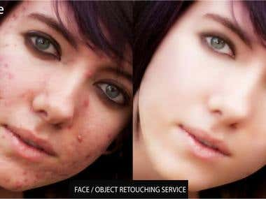 Photoshop retouching/ cloning services