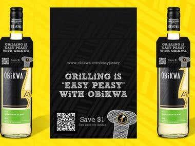 OBiKWA Sauvignon Blanc Label