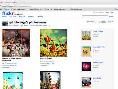 Flickr Photo Channel