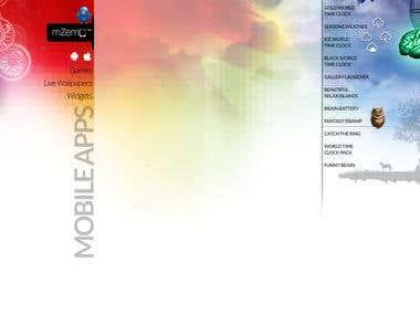 Mzemo.co.uk FaceBook & Twitter Landing Page Design