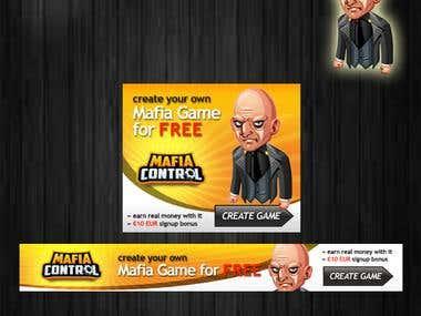 Mafia Banner Ad