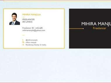 business card , brochure