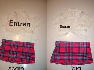 Clothes Branding Simulation