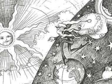 Detailed Cartoon Illustrations