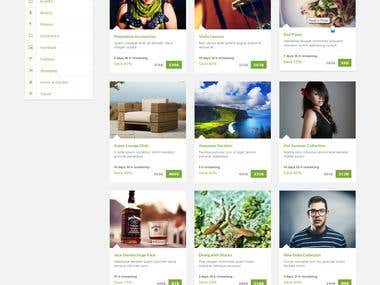 Retail Store Web Design