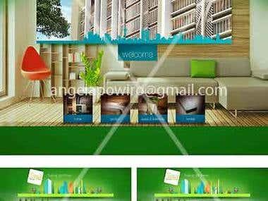 a property website design